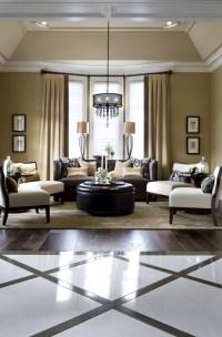 Living Room | Custom Model Home | Pinterest