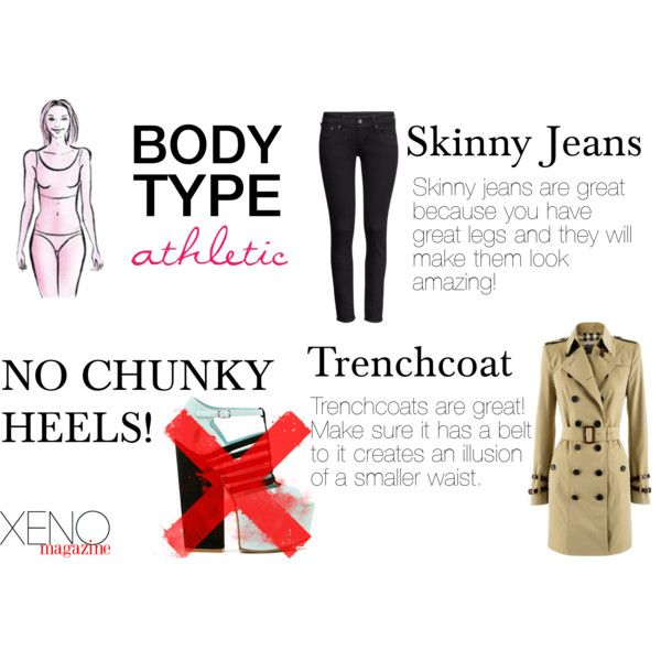 """Dressing For Your Body Type: Athletic"" by delightoftheyoung on Polyvore"