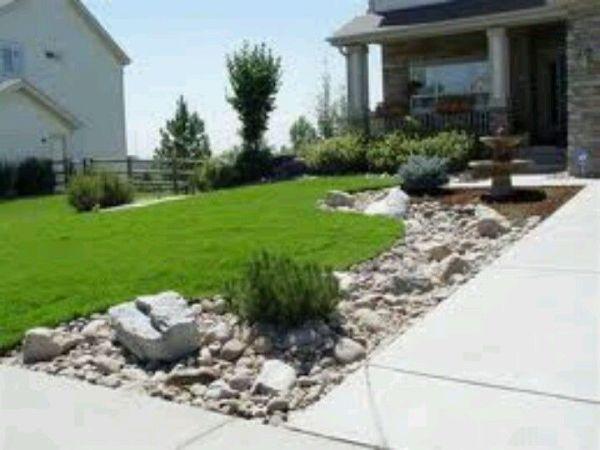 landscaping driveway adding