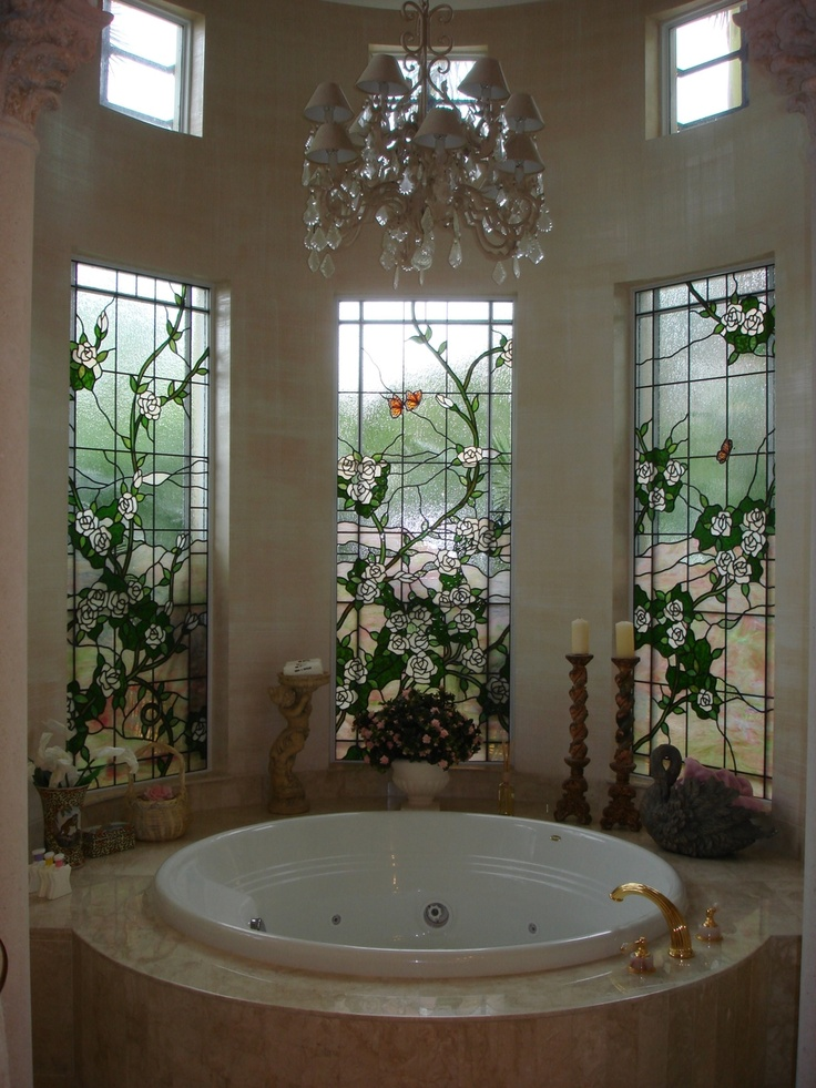 Bathroom Window Treatments For Privacy  Image to u