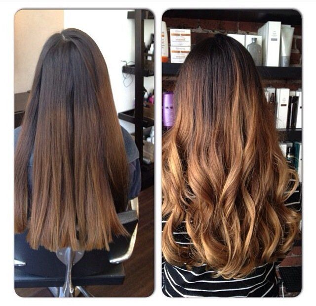 Balayage Highlights For Grey Hair Before And After