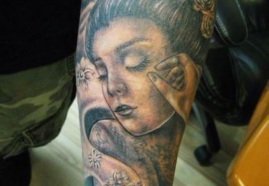 Tattoo Pin Up Designs