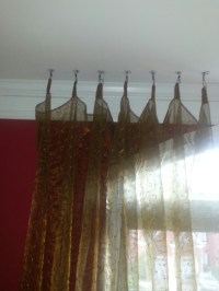Hanging Curtains From Ceiling