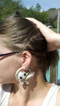 Octopus Earrings For Stretched Ears 6g 4g 2g 0g 00g ...