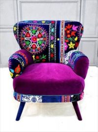 Funky Fun Furniture | Colorful Chairs | Pinterest