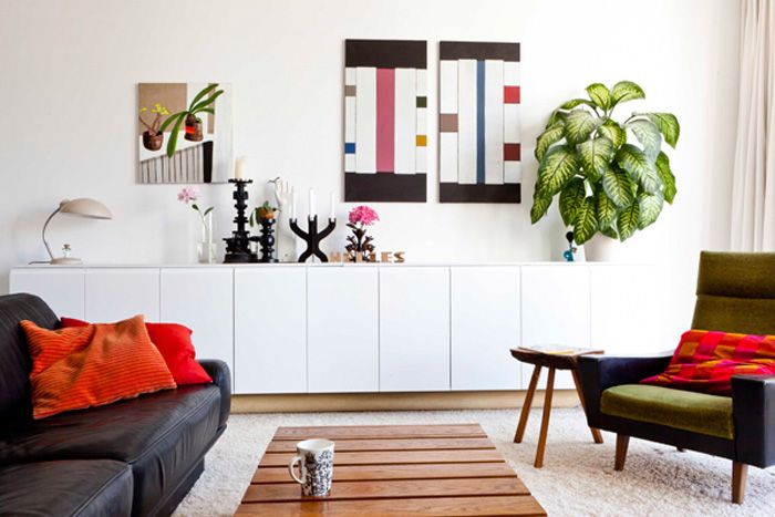 besta ikea shelves living room