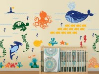 Ocean Friends - Under the Sea Nursery Vinyl Wall Decal ...