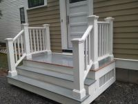 Side door steps | It's Personal | Pinterest