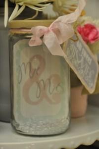 Mason jar bridal shower | Craft Ideas | Pinterest