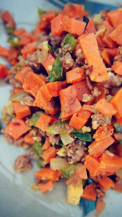 Undressed Skeleton — Momma's Healthy Sweet Potato Hash : Only 98 Calories and The Perfect Thanksgiving Side!
