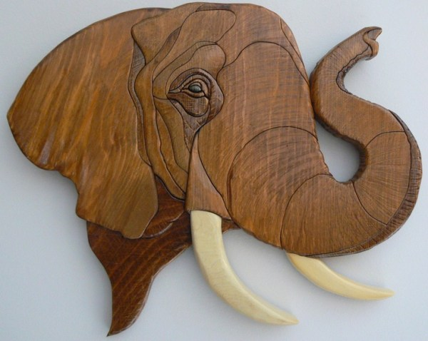 Custom Order Your Own Wood Intarsia African Animal