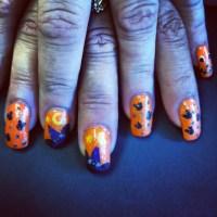 Haunted Disney Halloween nail art | DadaadadaDISNEYYYY