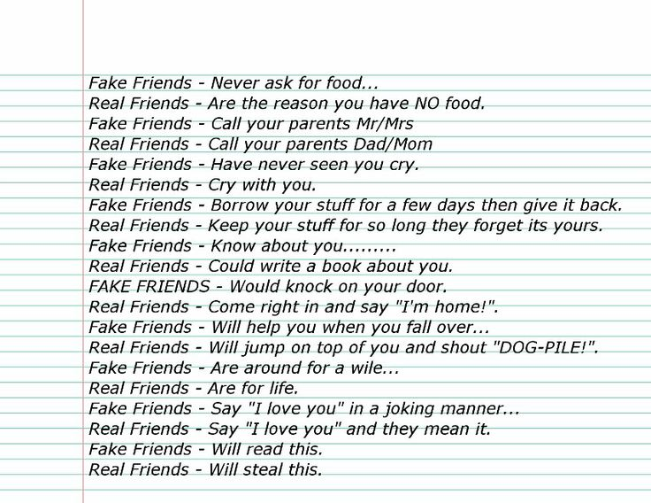 Fake Friends Quotes Facebook Status