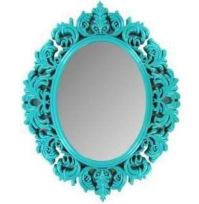 Wall Mirror Turquoise Shabby Chic Victorian Girls Room ...