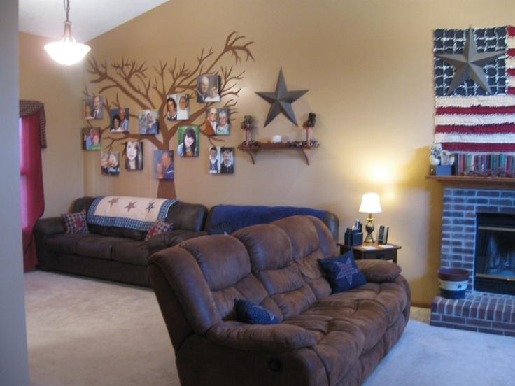 My Americana living room : )