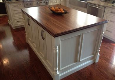 How To Make Kitchen Island Legs