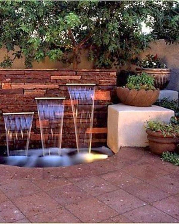 Garden Waterfall Ideas Waterfalls Awesome Indoor Waterfall