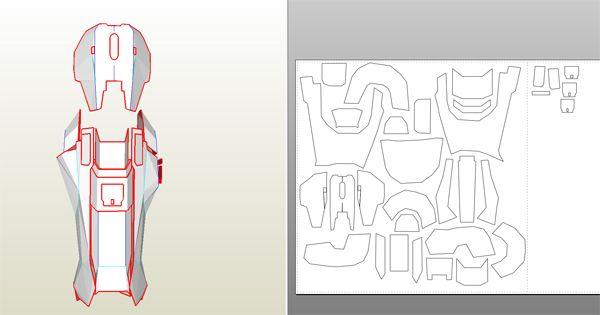 Master Chief Armor Blueprints