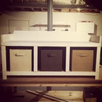 DIY storage bench seat. | Diy | Pinterest
