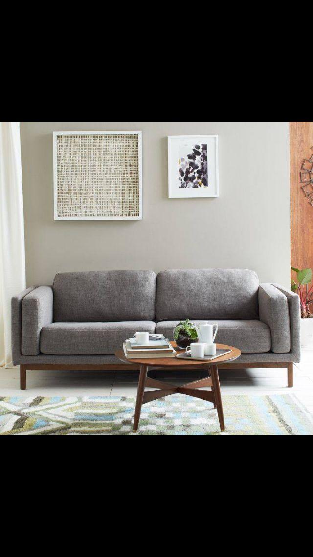 west elm living room  Home Sweet HomeFab Home Decor