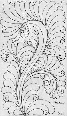 Crazy Quilt Sketch Templates