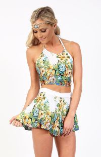 Lolita Two Piece Set Yellow Rose | clothespins | Pinterest