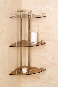 Corner shelves - shower   Bathroom Ideas   Pinterest