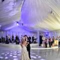 Tent wedding lighting pinterest