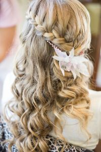 Waterfall braid | Wedding Hair | Pinterest
