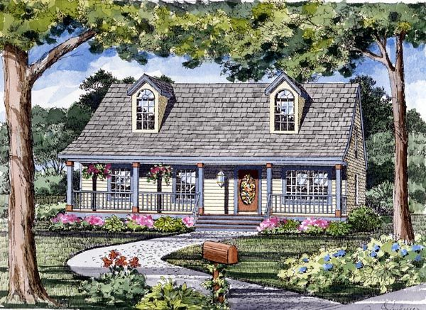 Cape Cod Cottage Country Traditional House Plan 79510