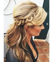 maid of honor updo hair