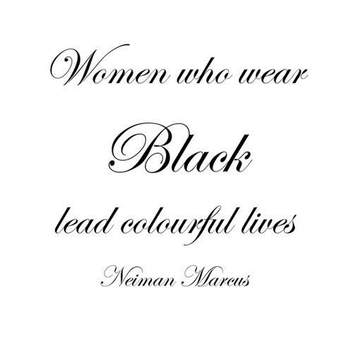 for one of my besties who wears a lot of black...