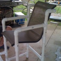 PVC pipe chair...   PVC Projects   Pinterest