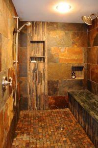 Custom Walk-In Tile Shower | Casa del Sol Naciente | Pinterest