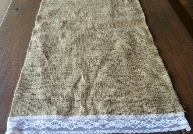 Ideas About Burlap Table Runners On Pinterest