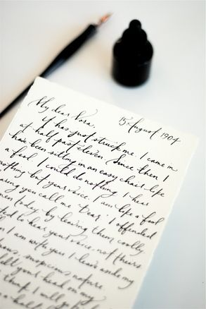 One of the coolest things I've ever seen... you submit your own love letter, and Paperfinger will transcribe it in beautiful, calligraphic script on gorgeous, textured, Italian stationery with deckled edges. Waaaaaant this.
