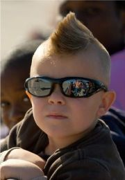 cute mohawk hairstyle bubby boy's