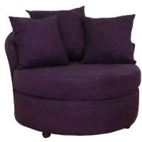 Round purple chair | Decor | Pinterest