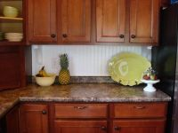 Thrifty Decor Chick Beadboard Backsplash | Cozy kitchens ...