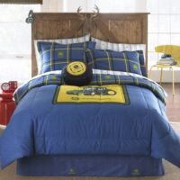 John Deere Denim Bedding | Car Interior Design