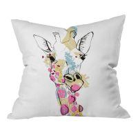 Casey Rogers Giraffe Color Pillow | inspiration | Pinterest