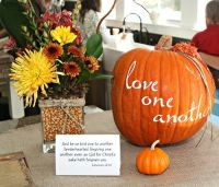 fall bridal shower ideas | Bridal Shower Ideas | Pinterest