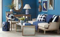 Navy & Gold Living Room | Dreamy Home Decor | Pinterest