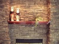 Stone Fireplace Finish | You Inspire Us | Pinterest