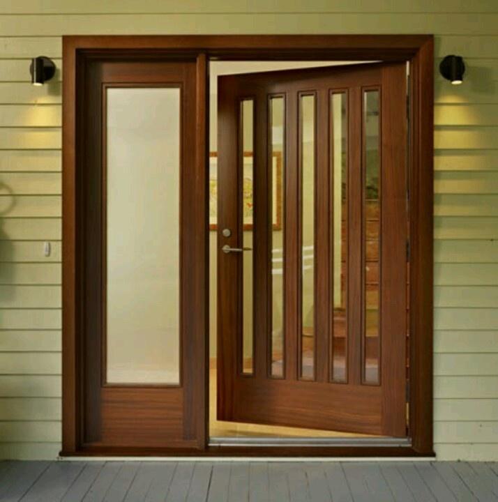 Nice big front door