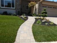 12 Best Front Yard Walkway Ideas - Tierra Este | 46027