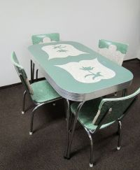 Retro kitchen table and chairs | For the Home | Pinterest