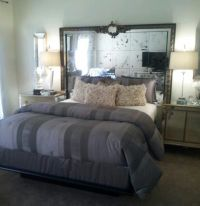 Mirror Headboard | DIY | Pinterest