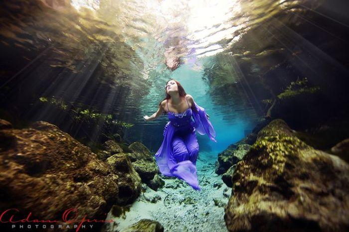 Адам Оприш. Таинственная река: Подводная мода