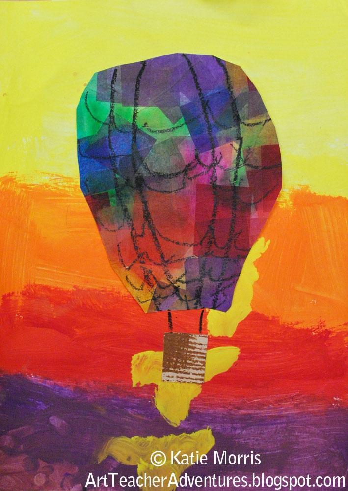 Adventures of an Art Teacher: 1st Grade Balloons